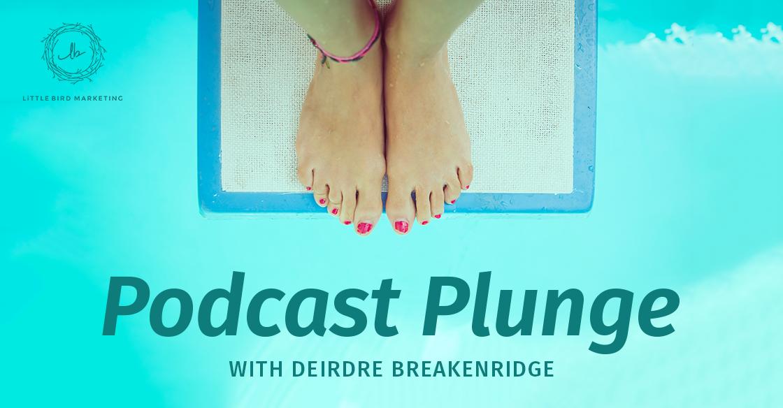 The Podcast Plunge with Deirdre Breakenridge
