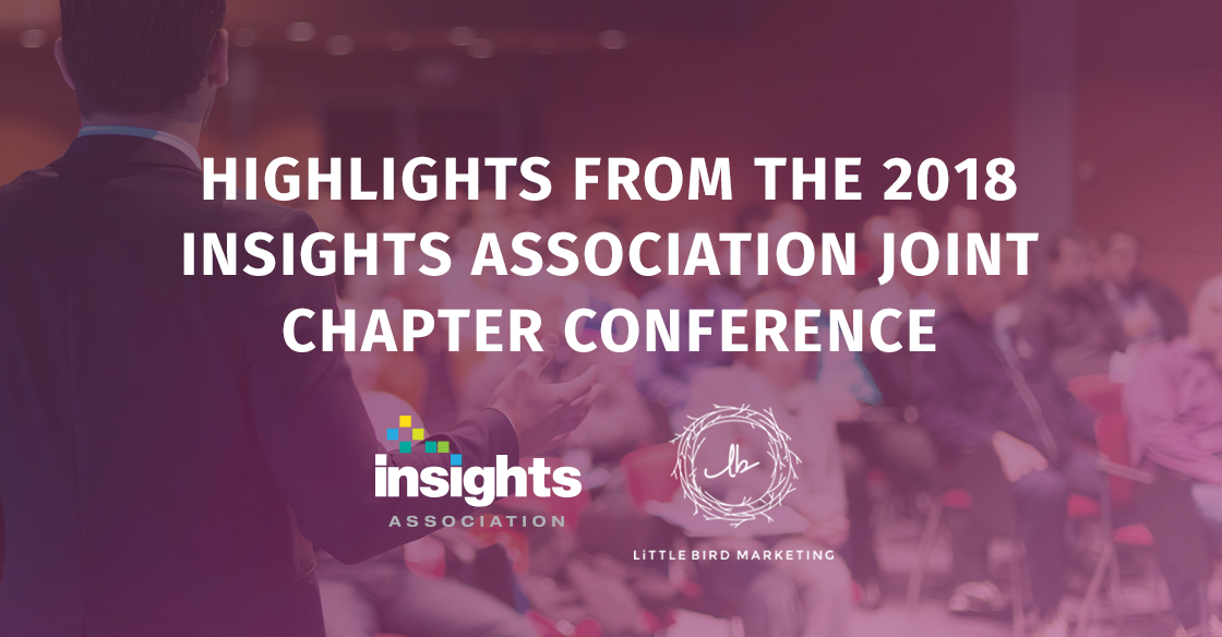 Highlights from the 2018 Insights Association Joint Chapter Conference