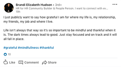 Grateful Post