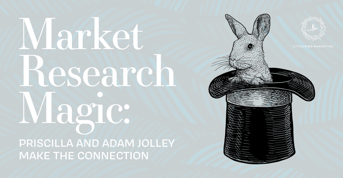 Market Research Magic: Priscilla and Adam Jolley Make the Connection