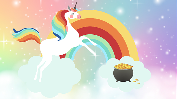 Unicorn. Rainbow. Pot of Gold. Picture these things when defining your ideal client.
