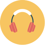 3. Noise canceling headphones.