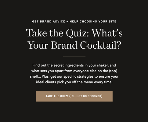 Whats Your Brand Cocktail