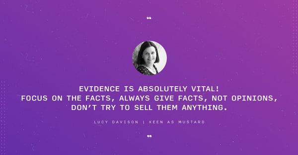 Lucy Davison quote