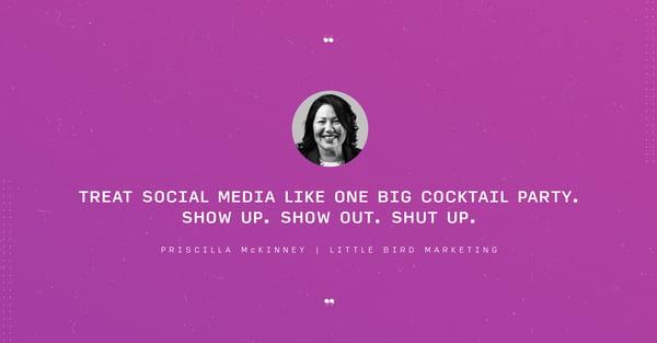 Priscilla McKinney quote