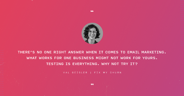 Val Geisler quote