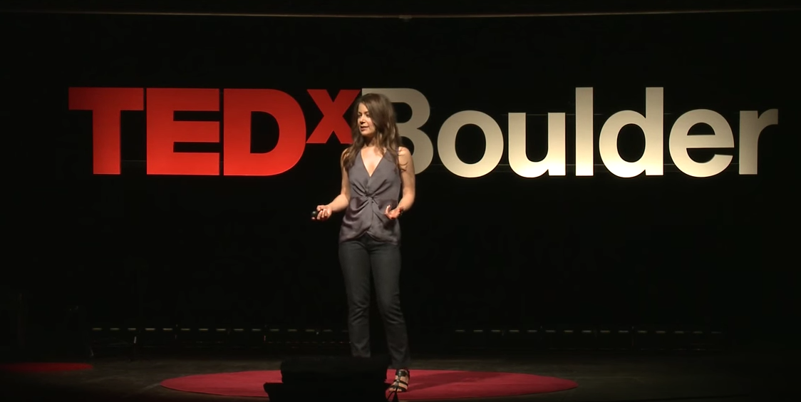Kristin Wheeler at Tedx Boulder