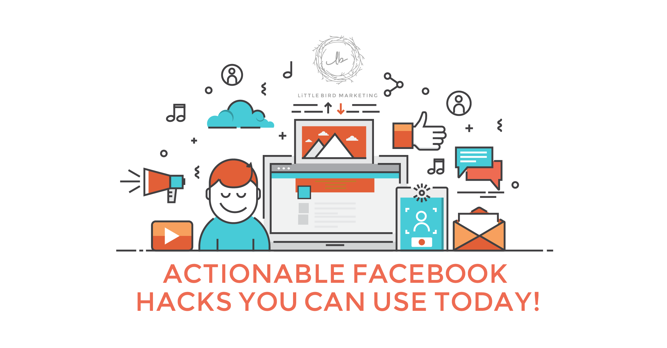 Actionable Facebook hacks you can use today! Get engagement on the largest social platform available!