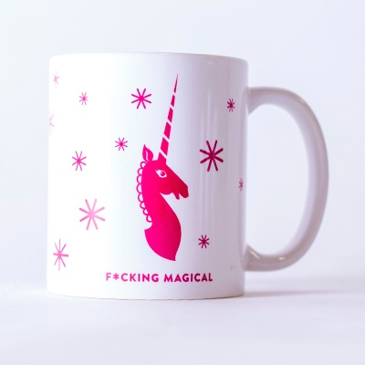 This coffee mug is f*cking magical.