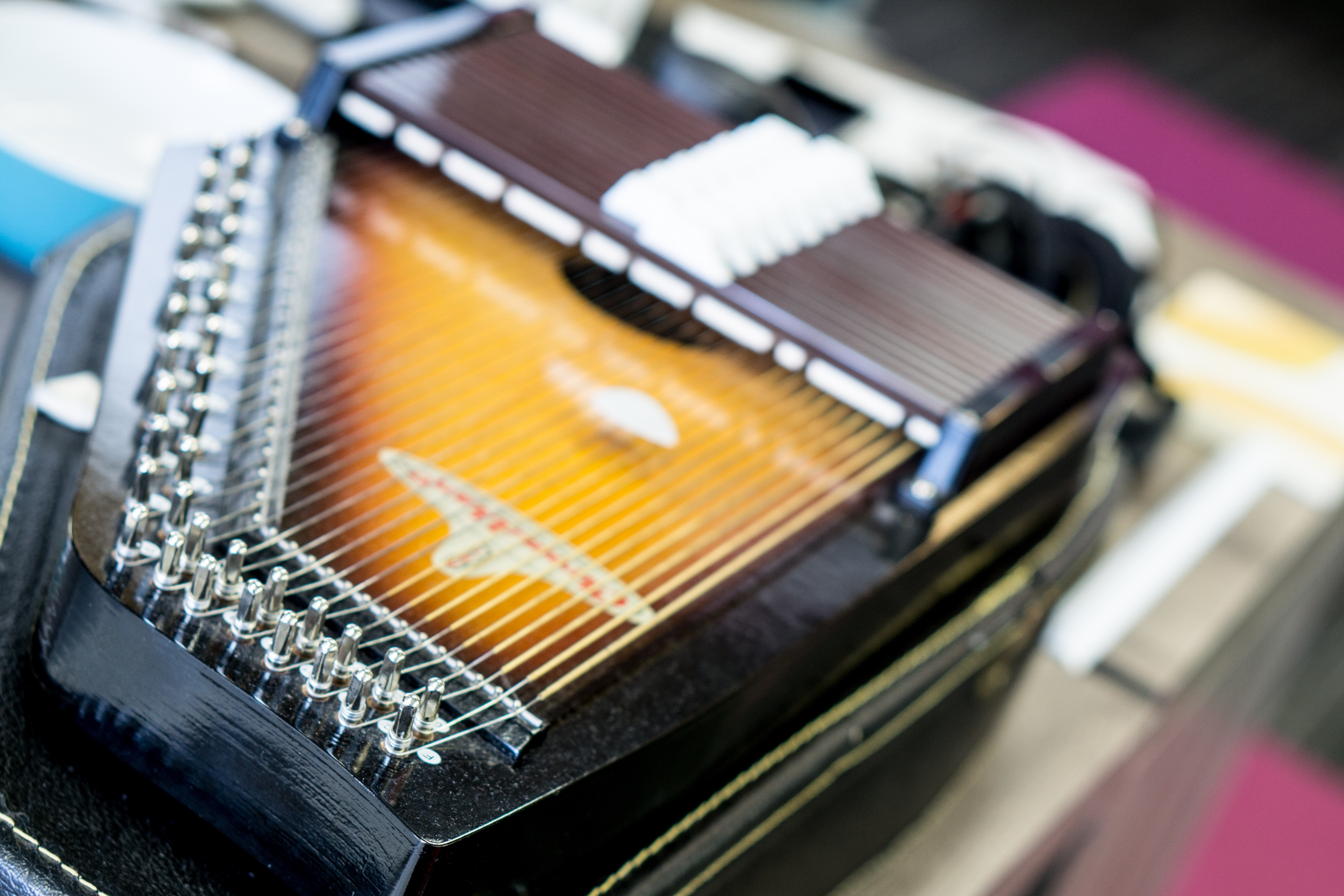 As experimental as she was, Mother Maybelle never hooked up a piezotransducer and fuzz pedal to her autoharp. Where her legacy ends, Little Bird's begins.