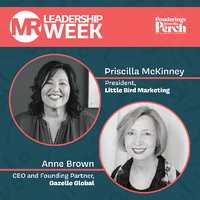 Anne Brown on MR Leadership Week