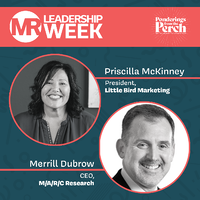 Merrill Dubrow on MR Leadership Week