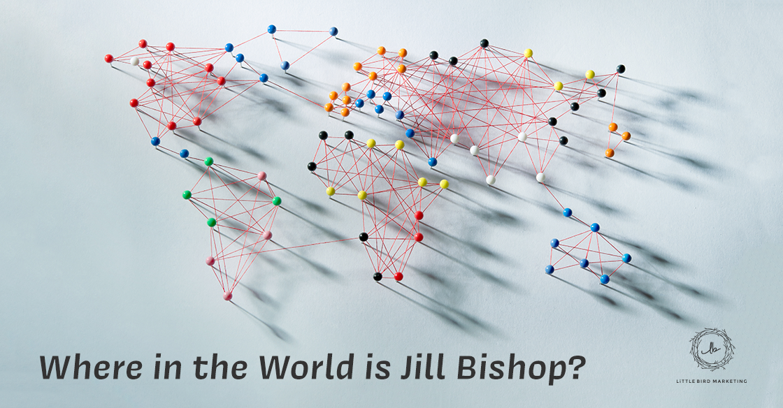 Where In the World is Jill Bishop?